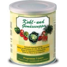La soupe aux choux et aux légumes