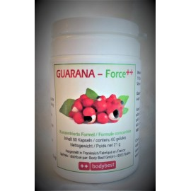 Guarana Force ++, le super stimulant