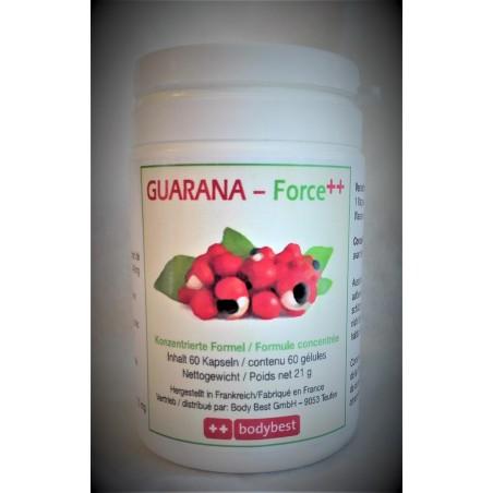 Guarana Force ++, le super stimulant