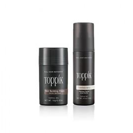 Fibres capillaires Toppik: dissimulez les cheveux clairsemés en 30 sec