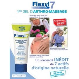 Flexyl 7, gel d'arthro-massage aux 7 merveilles de la nature